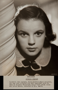 "Judy Garland in ""Everybody Sing"""
