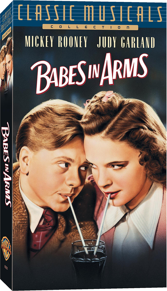 1990s Babes In Arms VHS