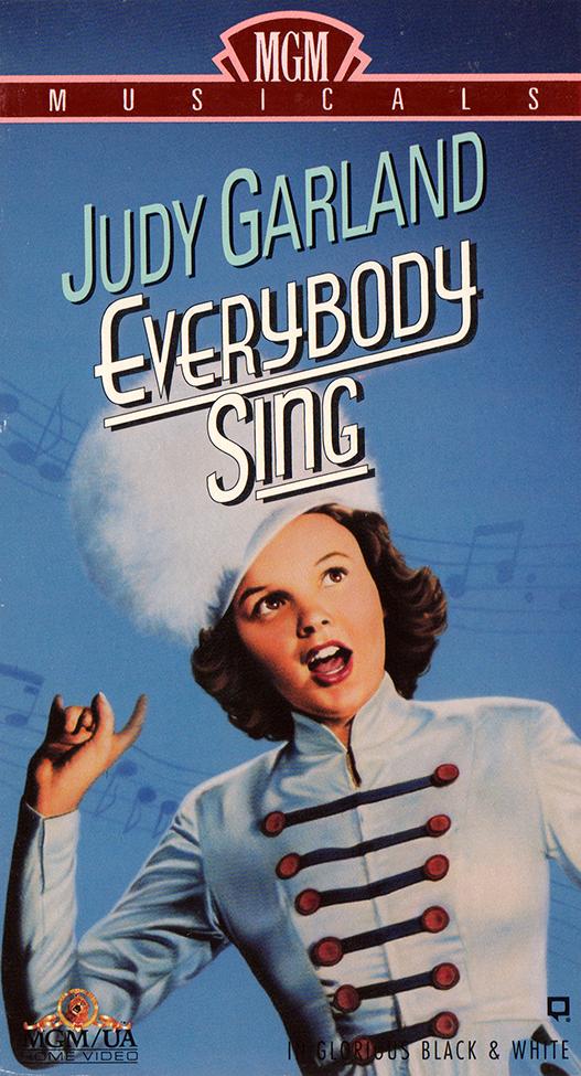 """""""Everybody Sing"""" 1992 VHS"""
