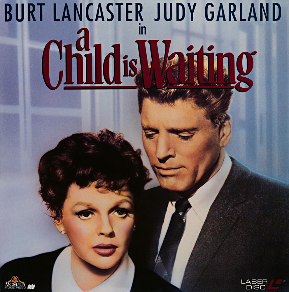 """A Child Is Waiting"" Laserdisc"
