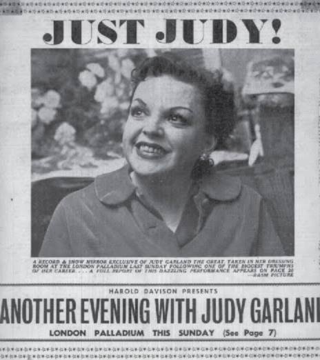 Judy Garland at the Palladium 1960