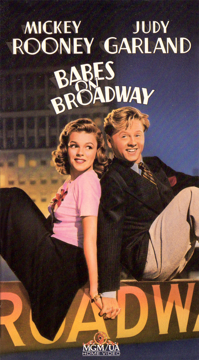"""Babes on Broadway"" 1989 VHS"