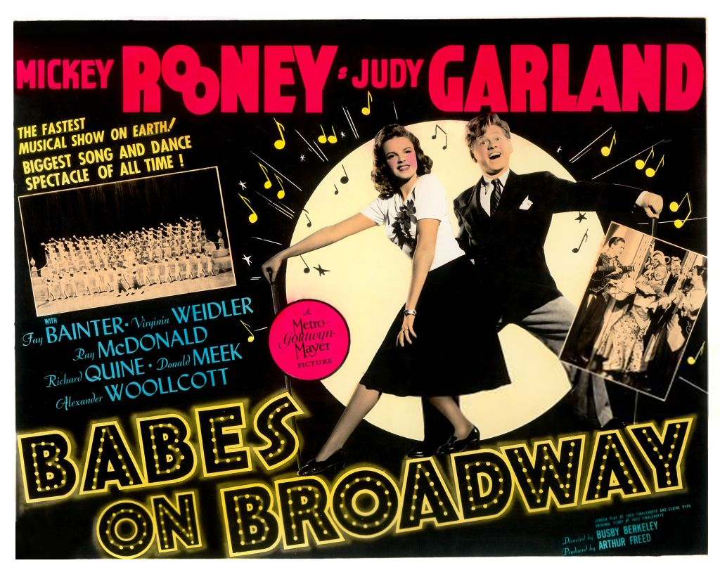 """Babes on Broadway"" poster"