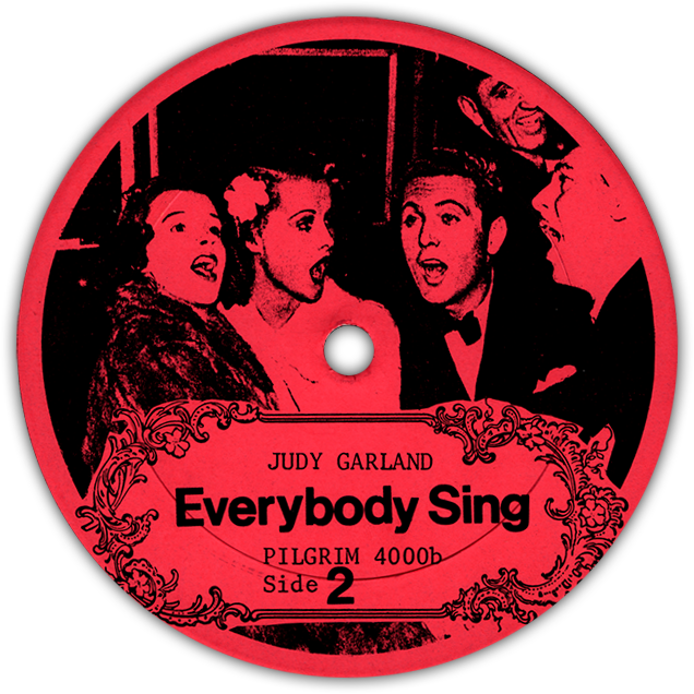"""Everybody Sing"" LP Label"