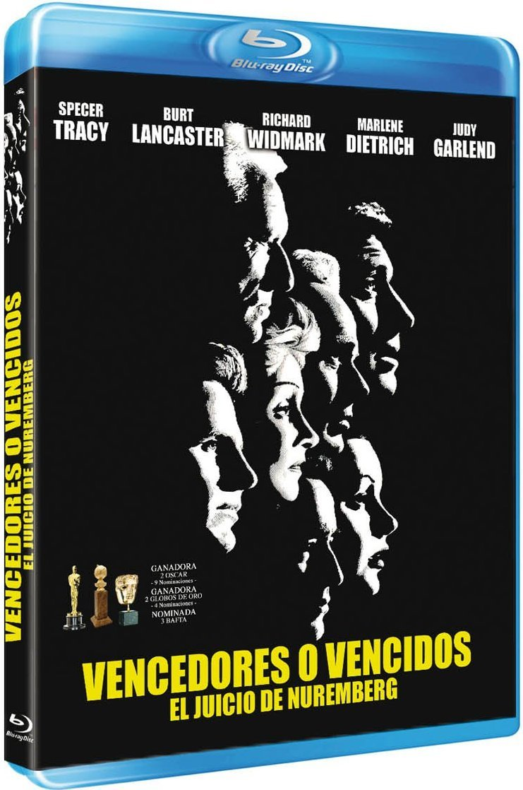 Judgment at Nuremberg Spanish Blu-ray