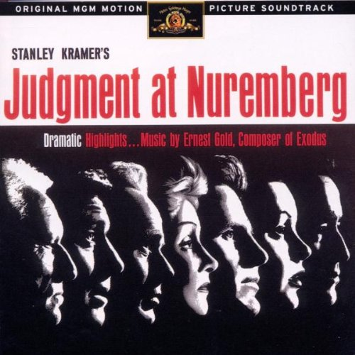 Judgment at Nuremberg soundgrack CD