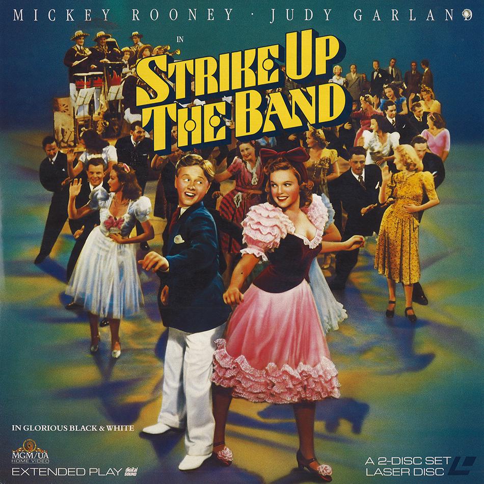 """""""Strike Up The Band"""" laserdisc"""
