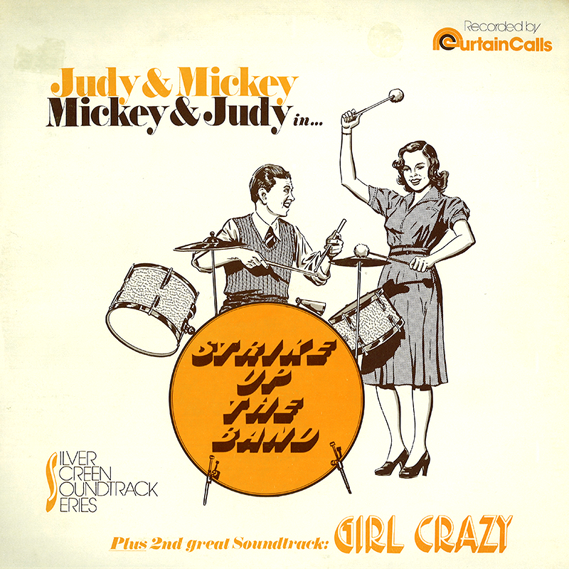 Strike Up The Band/Girl Crazy LP cover