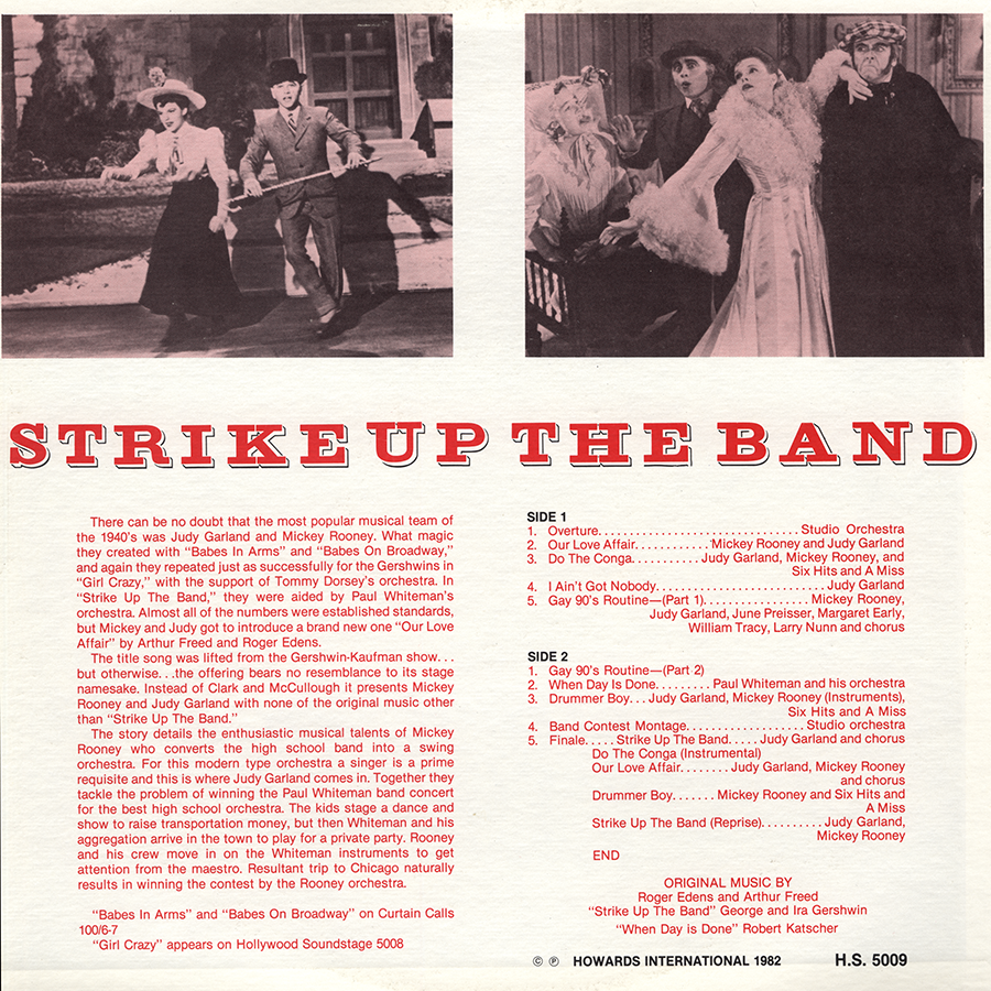 Strike Up The Band LP