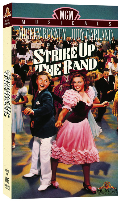 Strike Up The Band VHS 1990s