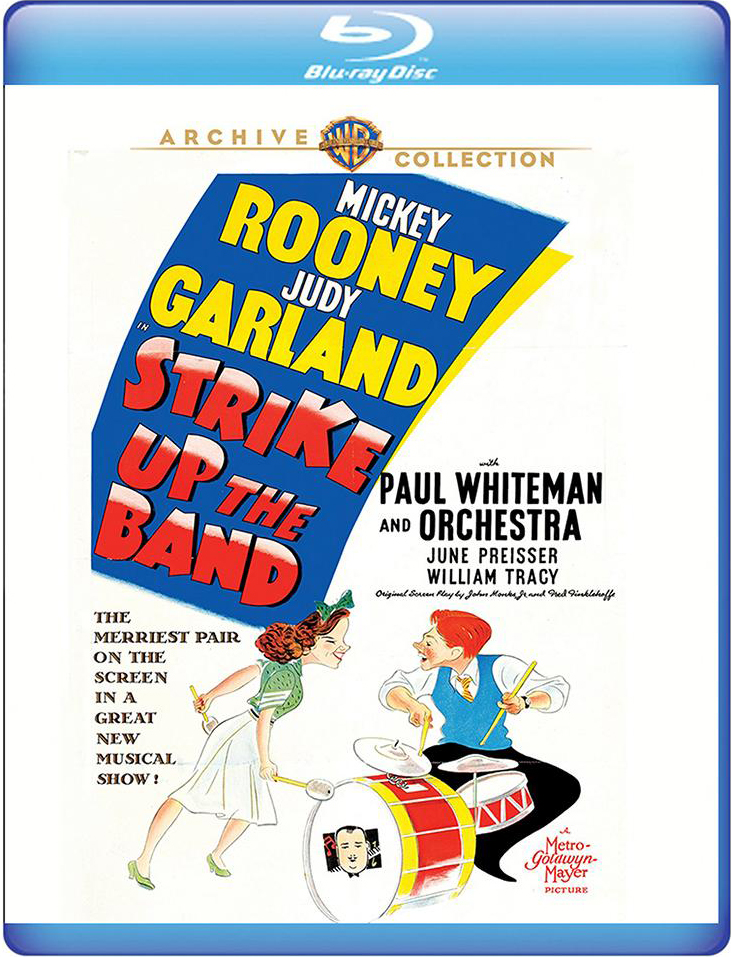 """Strike Up The Band"" on Blu-ray from the Warner Archive"