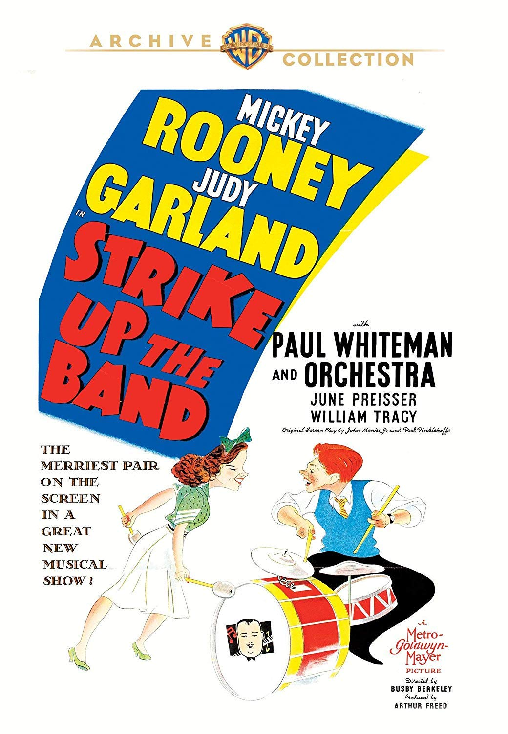 """""""Strike Up The Band"""" Warner Archive DVD"""