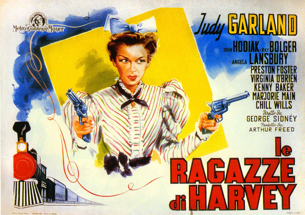 """The Harvey Girls"" Italian poster"
