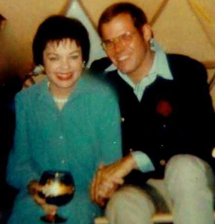 Judy Garland and Gene Polumbo backstage at the JFK Stadium 1968